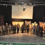 """برگزاری اختتامیه جشنواره """"نامه ای به شهید"""" و رونمایی از تابلو زیارت عاشورا در مرودشت"""