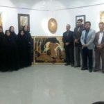 افتتاح نمایشگاه آثار استاد کاووس فلاحی در نگارخانه مهر مرودشت