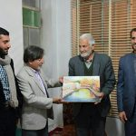 دیدار اهالی فرهنگ و هنر سیدان با مبارزین دوران انقلاب اسلامی